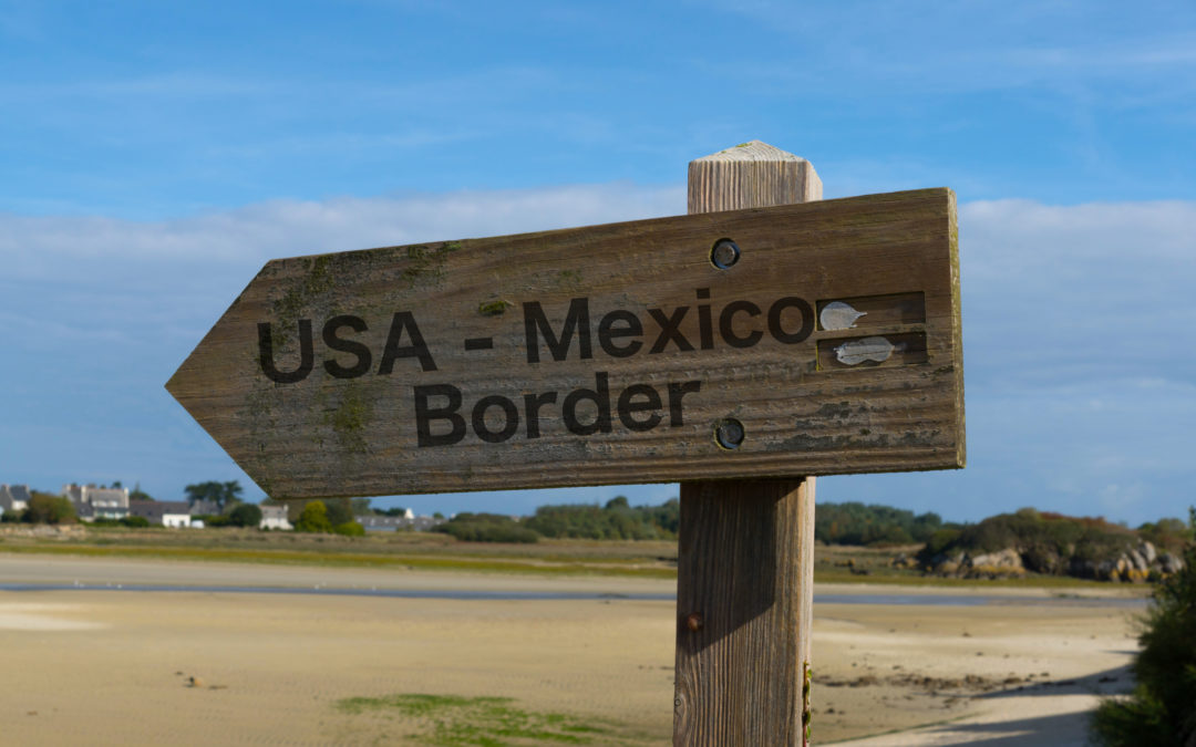 Migrantes, optimistas ante la visita de Harris a la frontera México-EEUU